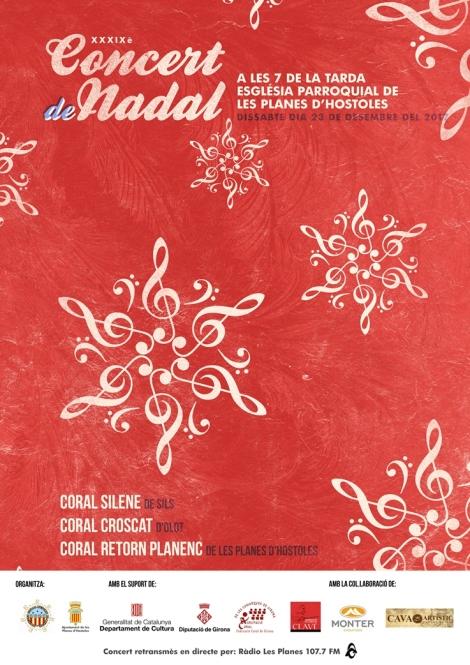 Cartell concert Nadal 23-12 C Retorn Planenc
