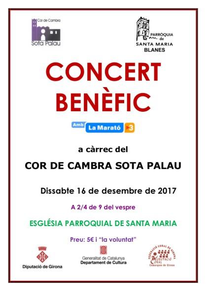 Cartell concert Parròquia 16 desembre 2017