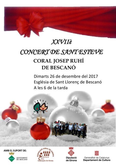 CARTELL SANT ESTEVE 2017 C Josep Ruhí