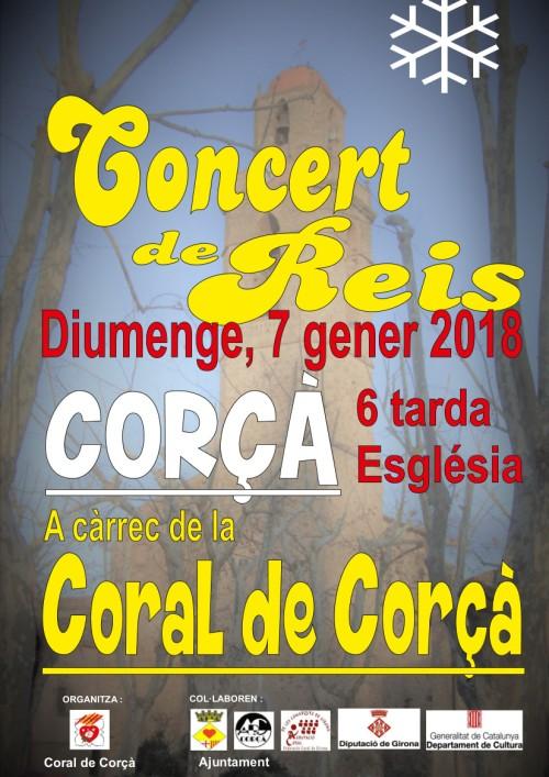 CONCERT DE REIS 2018 Coral de Corçà