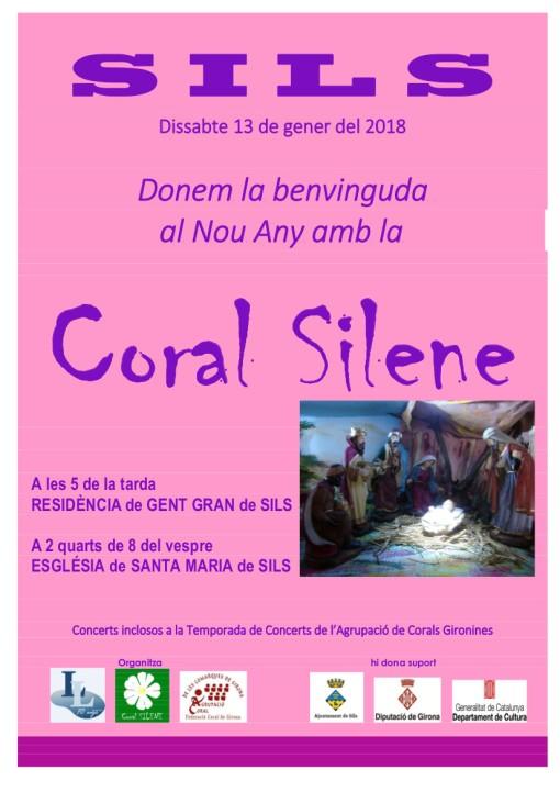 Coral Silene-Gener ANY NOU 13 gener 2018