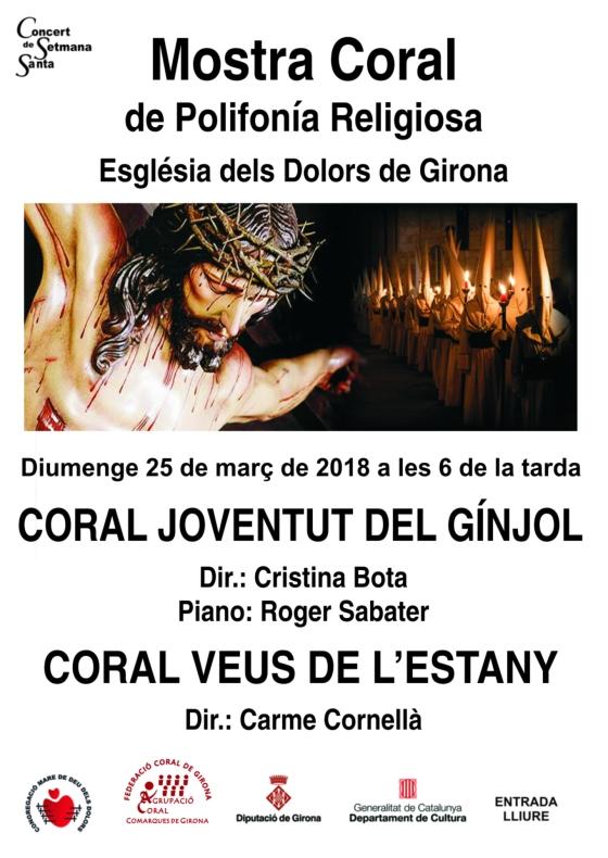 Mostra coral de Polifonía Religiosa