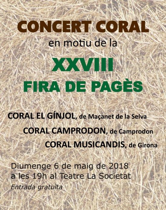 Cartell Fira Roser C El Gínjol 2018 B