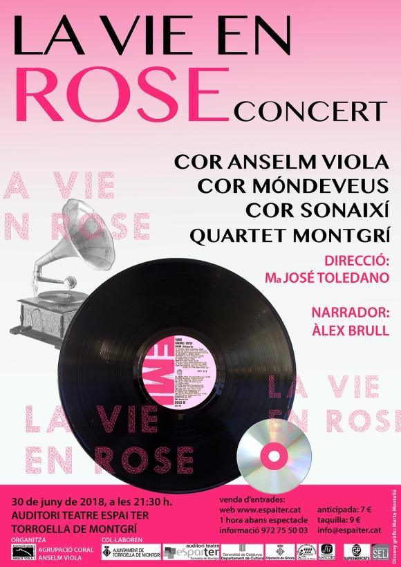 Cartell concert estiu 2018 Cor Anselm Viola