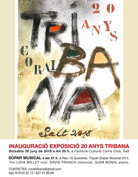 Cartell Coral Tribana