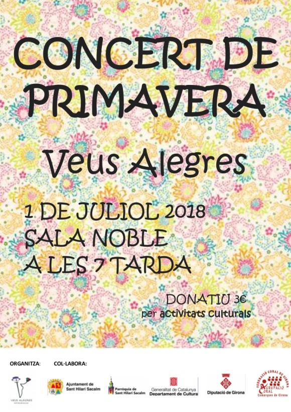 CONCERT DE PRIMAVERA 2018 C Veus Alegres