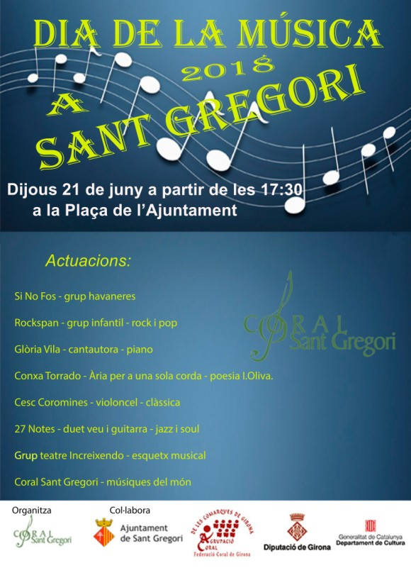 dia de la musica2018 C Sant Gregori