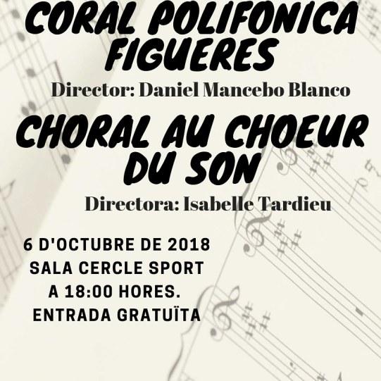Cartell Concert Polifònica Figueres