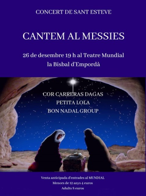 CANTEM AL MESSIES Coral Carreras Dagas (Small)