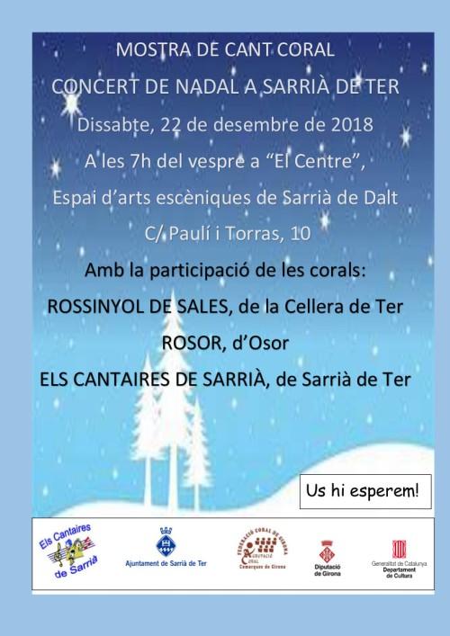 NADAL18 C Els Cantaires de Sarrià