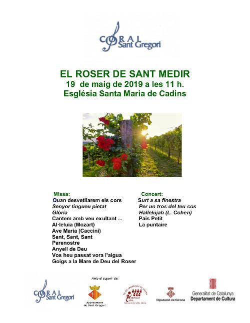 EL ROSER SANT MEDIR -C Sant Gregori 19 maig 2019