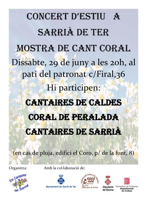 CONCERT ESTIU C Els Cantaires de Sarrià- 29 de juny 2019 (Small)