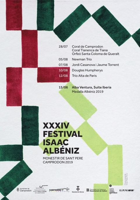 XXXIV Fest Isaac Albèniz (2019)_cartell (Small)