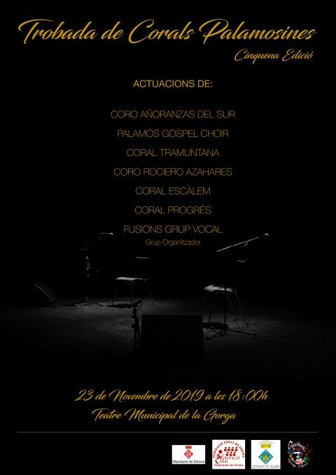 Fusions Grup vocal-Trobada corals Palamós -23 novembre