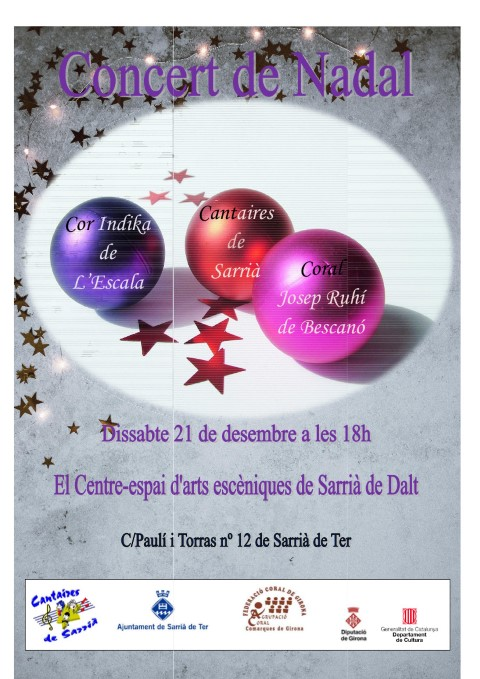 Cartell Nadal 21 desembre 2019- C Cantaires de Sarria
