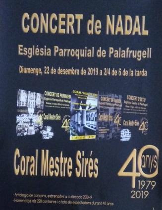 Concert de Nadal 22 desembre C Mestre Sirés