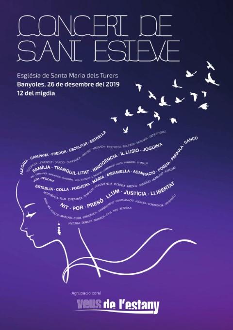 Concert Sant Esteve C Veus de l'Estany 2019